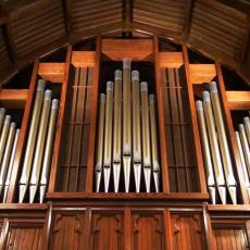 Pipe Organ at Penney Memorial Church